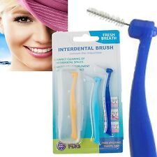 3PCS hygience oral flosser Interdental Brush head Tooth pick Teeth cleaning