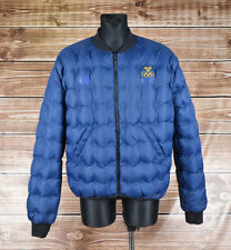 H&M Sweden Olympic Reversible Down Men Jacket Bomber Size L, Genuine