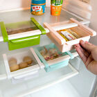 Kitchen Fridge Space Saver Organizer Slide Under Shelf Rack Holder Storage AE