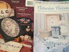 Victorian Vision Painting Book-Edwards-Florals/Lace/Birds/Butterfly