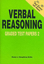 11+ ELEVEN PLUS VERBAL REASONING GRADED TEST PAPERS BOOK 2 ANSWERS 5 TIMED TESTS