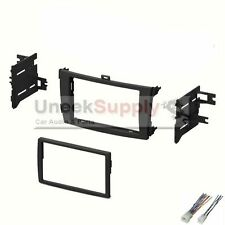 2009 2010 2011 2012 Toyota Corolla Dash Kit Double Din Stereo Install Harness