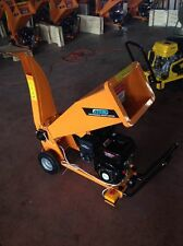 PETROL GARDEN CHIPPER SHREDDER ELECTRIC STARTNEW 2 YEAR WARRANTY + free chainsaw