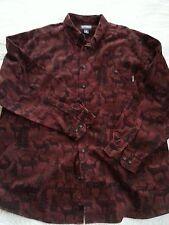 Woolrich Soft Cotton Chamois Button Up Shirt w/Deer Print Men's Size XXL Tall