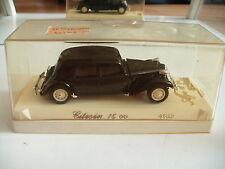 Solido Citroen 15 CV in Black on 1:43 in Box
