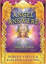 Angel Answers Oracle Cards 44-Card Deck and Guidebook Doreen Virtue