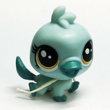 Original Hasbro Littlest Pet Shop LPS Orna Curley Animal Doll Figure Baby Toy