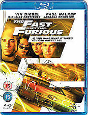 The Fast And The Furious (Blu-ray, 2009)