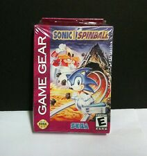 NEW Sealed W/crushed Box Sonic Spinball Pinball Machine Game for Sega Game Gear