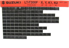 Suzuki LT-F300F King Quad 1999 2000 2001 2002  Parts Catalog Microfiche s510