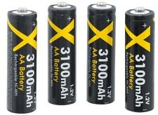 RECHARGEABLE 3100mAH 4AA BATTERY FOR SAMSUNG WB100 WB110