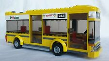 Lego City Yellow Bus -Incomplete - Vehicle - Pizza 7641 - Retired Set - Bus Only