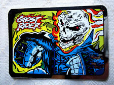 "MARVEL SUPER HEROES ""GHOST RIDER"" FOIL VENDING MACHINES STICKER GREAT SHAPE 90's"