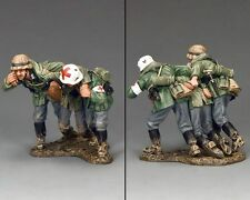 """KING AND COUNTRY  WW11 WEHRMACHT""""OUT OF DANGER"""") wh003 Military PAINTED MEATAL"""