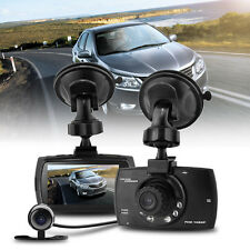 H.264 1.3M CMOS HD1080P Dual Lens Car Dash Camera DVR Cam Automatically Switch