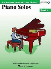 Piano Solos Book 4 - Book with Online Audio: Hal Leonard Student Piano Library (