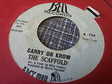 The Scaffold 45 Carry on Krow/Do You Remember? Psych Company Sleeve VG++/NM-