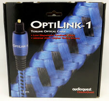 Audioquest OptiLink-1  1 meter Digital Toslink Fiber