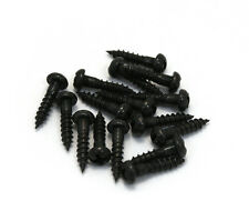 "(16) Gotoh Black Phillips 3/8"" Guitar/Bass Tuner Mounting Screws GS-3376-003"