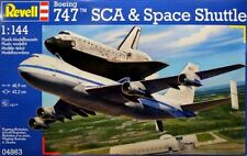 New Revell 1:144 Space Shuttle and Boeing 747 Model Kit