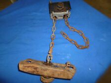 88 89 90 Toyota Truck 1 Ton Dually Camper Spare tire winch hoist mount carrier