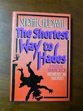 1985 1st US Edition Book - Shortest Way To Hades by Sarah Caudwell - Signed