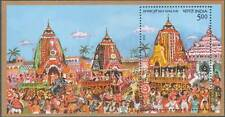 Rath Yatra of Puri.. MINIATURE SHEET(1 NO) -MNH