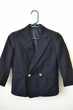 Ralph Lauren Navy Blue Sports Jacket Suit Jacket Blazer Boys Size 7