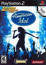 Karaoke Revolution: American Idol Playstation 2 Video Games-Good Condition