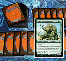 mtg GREEN DECK Magic the Gathering rare cards silvos chameleon colossus