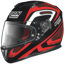 NOLAN N86 OVERTAKING RED / BLACK MEDIUM MOTORCYCLE HELMET * CLEARANCE SAVE £40