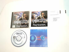URBAN CHAOS 1st Edition complete in box PAL PS1 Sony playstation 1 videogame psx