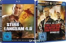 2 x STIRB LANGSAM: Stirb Langsam 4.0 und Ein Guter Tag Zum Sterben / 2 Blu Rays