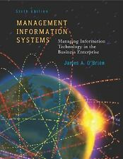 Management Information Systems w/ Powerweb, James A. O'Brien, James O'Brien, Goo
