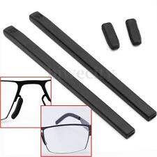 4Pcs/set Black Silicone Gel Cover Temple Tips Pad For ic! berlin Glasses Frame