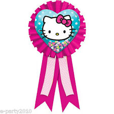 HELLO KITTY RAINBOW GUEST OF HONOR RIBBON ~ Birthday Party Supplies Award Favors