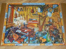 2010 THE MUSIC ROOM 1000 pc White Mountain jigsaw puzzle