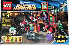 LEGO Batman (6857) DC Universe Super Heroes: The Dynamic Duo Funhouse Escape NIB