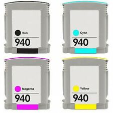 4 CHIPPED 940 XL INK CARTRIDGE FOR HP INKJET OFFICEJET PRO 8000 8500 Non- Oem