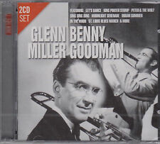 GLENN MILLER & BENNY GOODMAN on 2 CD's - NEW -