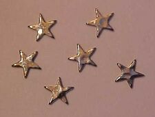 STARS for Model Horse Tack / Costume Making SILVER TONE