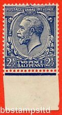 SG. 373 variety N21 (15). 2½d Indigo Blue ( toned paper ). UNMOUNTED MINT