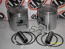 SUZUKI GT250 GT250X7 PISTON KITS (2) NEW PARTS +0.5mm EARLY RG250 GAMMA ?