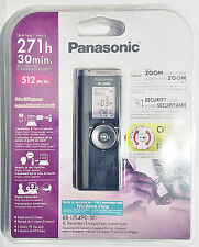 NEW Panasonic RR-US490 Digital Recorder 271 Hours Zoom Mic EVP Diktiergerät