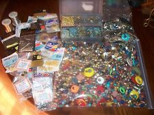 HUGE JEWELRY BEAD MAKING LOT