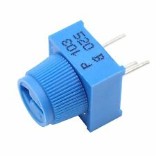 10K Ohm Breadboard Trim Potentiometer With Knob For Arduino pack of 10