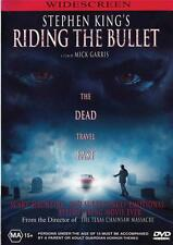 RIDING THE BULLET - STEPHEN KING -  NEW & SEALED  REGION 4 DVD FREE LOCAL POST