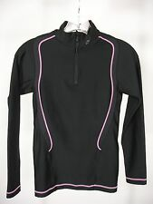 CW-X 160075 INSULATOR WEB TOP 1/2 ZIP LONG SLEEVE ATHLETIC TOP WOMEN'S XS