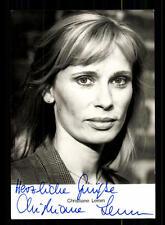Christiane Lemm Rüdel Autogrammkarte Original Signiert # BC 79567