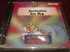 MUSIC MAESTRO KARAOKE 6421 DESTINATION DOO WOP CD+G OOP SEALED